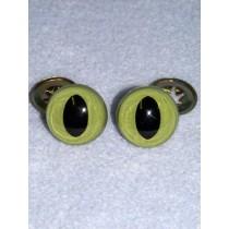 Eye - Cat - 12mm Green Pkg_6