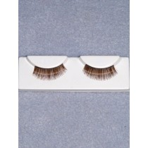Eyelashes - Fine - Brown