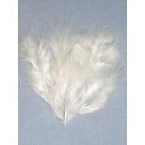 Feathers - Marabou - White Pkg_25