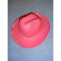Felt Cowboy Hat - Pink - 7 3_4