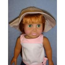 """Floppy Hat - 18"""" Doll"""