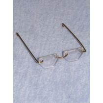 "Glasses - Hexagon - 3 3_4"" Acrylic"