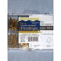 Gold Findings Starter Kit - Pkg_20