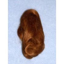 Hair - English Mohair-Lt. Brown -1 Yd