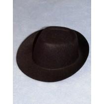 "Hat - Fedora - 5 1_2"" Black"