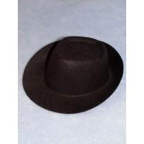 "Hat - Fedora - 8"" Black"