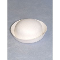 "Hat - Sailor - 3 5_8"" White"