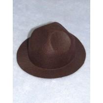 "Hat - Smokey - 6"" Brown"