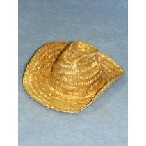 """Hat - Straw - 4"""" Cowboy"""