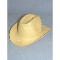 """Hat - Straw Cowboy - 8 1_2"""" Natural"""