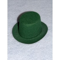 "Hat - Top - 4"" Green"