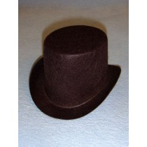 "Hat - Top - 5 1_2"" Brown"