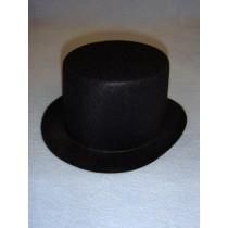 "Hat - Top - 7"" Black"
