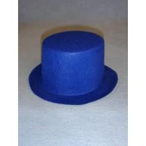 """Hat - Top - 7"""" Blue"""