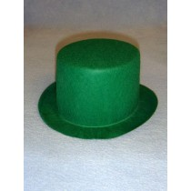 "Hat - Top - 7"" Green"