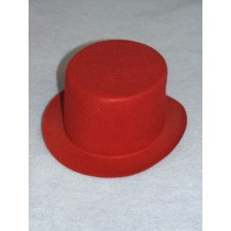 "Hat - Top - 7"" Red"