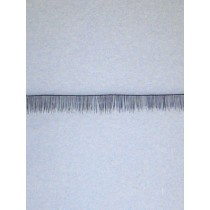 Human Hair Eyelash Strip - Black