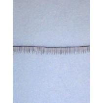 Human Hair Eyelash Strip - Darker Brown