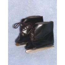 "Ice Skates - 3 1_8"" x 1 3_4"" Black"