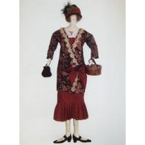 Iris Cloth Doll Pattern