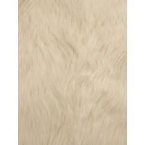 Ivory Luxury Shag Fur - 1 Yd