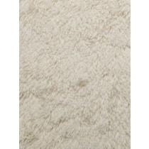 Ivory Shaggy Cuddle Fabric - 1 Yd