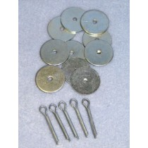 "Joints - Metal - 1"" Set_5"