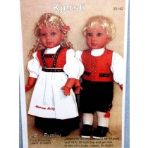 """Kit - Norwegian Boy Outfit 18"""" doll"""