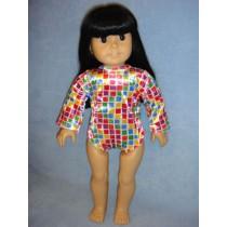 """Leotards for 18"""" Dolls - Asst. Print"""