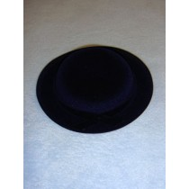"Hat - Flocked Lord Fauntleroy - 6 1_2"" Royal Blue"