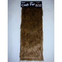 "Luxury Faux Fur - Dark Brown 12"" x 15"""