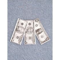 """Mini - Paper Money - 1 1_2"""" long Pk_3"""