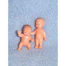 "Miniature - 1 1_2"" Babies Pkg_6"