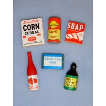 Miniature Grocery Items
