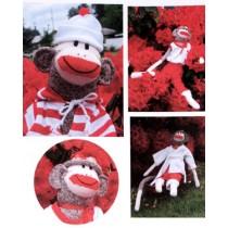 Monkey Socks Clothes Pattern