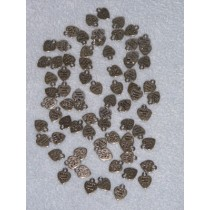 Nickel Cast Metal Charms - Made w_Love - Pkg 75