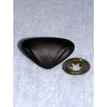 Nose - Leather-Look Triangle - 35mm Black Pkg_50