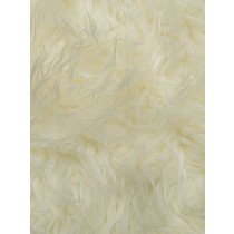 Off White Mongolian Fur - 1 Yd