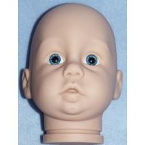 Oops Head w_Blue Eyes - Translucent