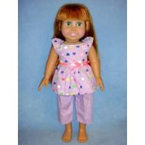 "|Pajamas for 18"" Doll"