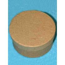 Paper Mache - Round Box - 3