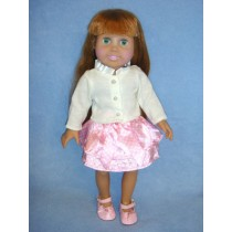 "|Party Outfit for 18"" Doll"