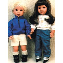 "Pattern - Camping Clothes 18"" Dolls"