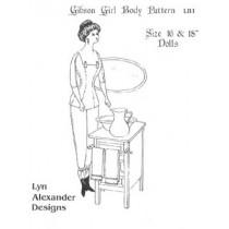"Pattern - Gibson Girl Body  16-18"""