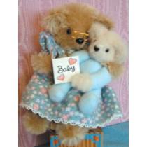 "Pattern - Mini 6"" Grandma & 3"" Baby"