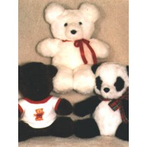 "Pattern - Sitting & Softie Bear 12"""