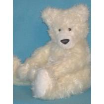 "Paw Polar Bear Pattern - 12"" high"
