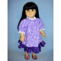 "Peasant Dress for 18"" Dolls"