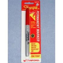 Pen - Sharpie Fine Point - Red
