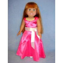 "|Pink Party Dress - 18"" Dolls"